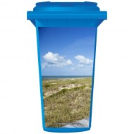 Grass On The Beach Wheelie Bin Sticker Panel