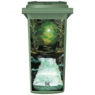 Brett Day Enchanted Forest Wheelie Bin Sticker Panel
