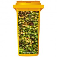 Ivy Leaves Wheelie Bin Sticker Panel