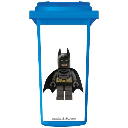 Batman Wheelie Bin Sticker Panel