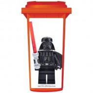Lego Darth Vader Wheelie Bin Sticker Panel