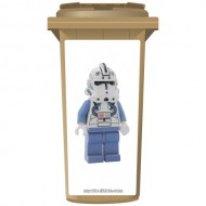 Lego Imperial Storm Trooper Wheelie Bin Sticker Panel