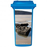 Rocks On The Coast Wheelie Bin Sticker Panel