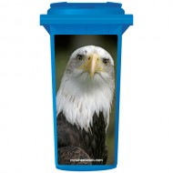 The Eagle Selfie Wheelie Bin Sticker Panel