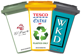Your Business On A Bin - Wheelie Bin Stcikers
