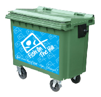 Your Business On A Bin - Wheelie Bin Stickers